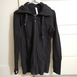 Lululemon Stride jacket sz8 black